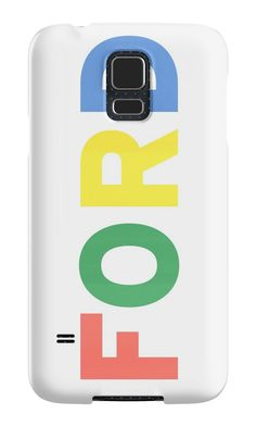 """""""FORD vintage colours """" Samsung Galaxy Cases & Skins by opul 