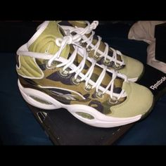 aa6a3166d Allen Iverson rebok   bape collaboration sneakers Sneakers worn maybe 3  times In excellent condition Comes with box and receipt Paid several  hundred for ...