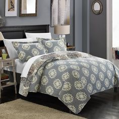 Kenny Boho Inspired Quilt Set by Chic Home Beige - QS3310-BIB-HE