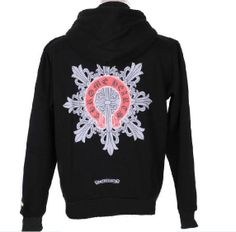 27cc505dd369 Black Chrome Hearts Hoddie With Red Horseshoes Logo Black chrome hearts  hoodie 2013 New Style.