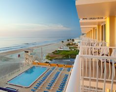Enjoy the sunrise and breathtaking ocean views at Bluegreen Vacations Casa Del Mar, an Ascend Resort in Ormond Beach, FL. Enter for a chance to win your Dream Honeymoon here: www.choicehotelsoffers.com/dreamhoneymoon    #sweepsentry