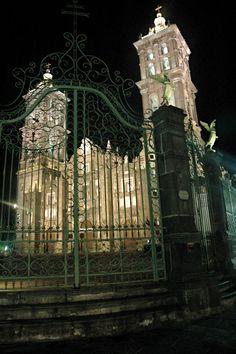 Beautiful church in Puebla, Mexico.