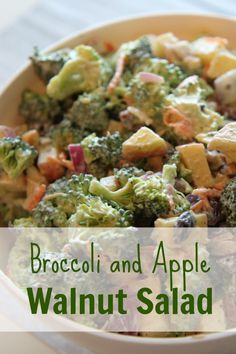 Recipe for Broccoli Salad :: Easy to make broccoli salad that is perfect for your next gathering.