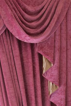 Pink Chenille Half Overlapping Style