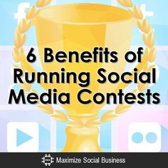 There are SO MANY benefits of running social media contests - here are a few for starters!