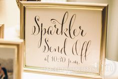See all matching items to this set here: http://etsy.me/TpqWFT  ▬▬▬▬▬▬▬▬▬▬▬▬▬▬▬▬▬▬▬▬▬▬▬▬▬▬▬    The perfect way to announce your sparkler send off!!