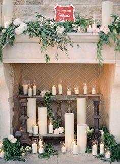 425b071213219dd34cbbf289b207d2a9--candles-in-fireplace-wedding-fireplace.jpg (736×1006)