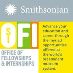 Smithsonian Fellowships and Internships