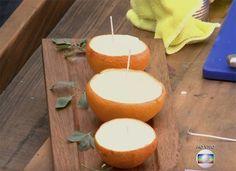 Mosquito nunca mais! Faça vela de citronela para decorar ambientes externos e internos.