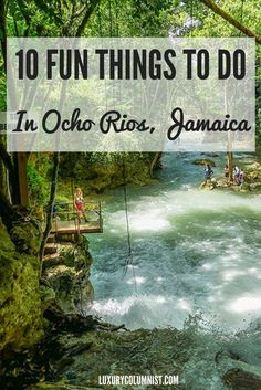The chances are if you're heading to Jamaica that you will be in Ocho Rios. It's a great base and 10 fun things to do in Ocho Rios. Travel in the Caribbean.