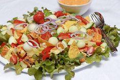 Cooking Recipes, Healthy Recipes, Tex Mex, Sour Cream, Guacamole, Cobb Salad, Potato Salad, Salads, Good Food