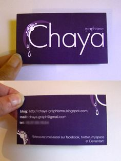 35 best amethyst business cards ideas images on pinterest business chaya business card by chaya line on deviantart reheart Image collections