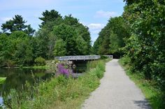 Tow Path, at the Blackstone River and Canal Heritage State Park, in Uxbridge, Massachusetts.