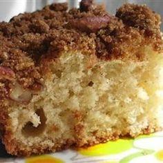Make-Ahead Sour Cream Coffee Cake - Allrecipes.com