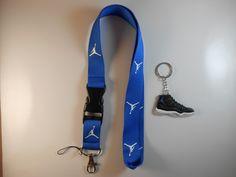 $9.05 Free shipping One Jordan lanyard with one Jordan keychain. Great gift idea!
