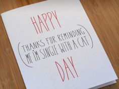 Funny Friend Valentine's Day by tattoosloveletters on Etsy, $4.00
