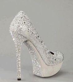 Diamanté shoes  :)