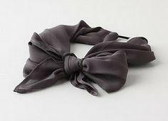 michael ann made.: the (anthro) scarf headband diy