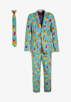 OppoSuits TEEN BOYS COOL CONES SET - blazer - multicolor - Zalando.nl Cute Teen Outfits, Outfits For Teens, Boy Outfits, 3 Boys, Teen Boys, Pajama Pants, Blazer, Cool Stuff, Jackets