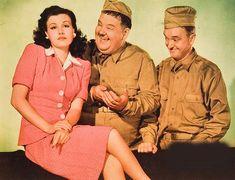 GREAT GUNS - Stan Laurel & Oliver Hardy - 20th Century-Fox - Lobby Card.