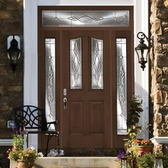 Take a look at my entry door project that I created with Plastpro Doorability.
