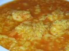 Un arroz fantástico con un sabor intenso a marisco que me encanta !! Esta receta es del jefe de cocina, Ismael Bernal, de la Arroc...