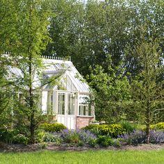 Gewächshaus in den Small Gardens