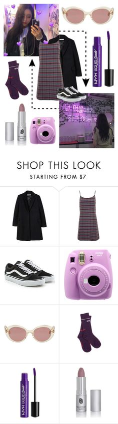 """violet?? magenta?? purple??"" by infires ❤ liked on Polyvore featuring MANGO, Nobody's Child, Vans, Fujifilm, Oliver Peoples, Vetements and Charlotte Russe"