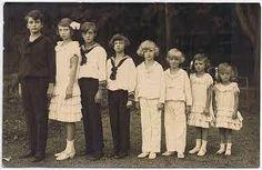 Children of Emperor Karl and Empress Zita - Otto, Crown Prince of Austria, Archduchess Adelheid, Robert, Archduke of Austria-Este, Archduke Felix, Archduke Karl Ludwig, Archduke Rudolf, Archduchess Charlotte, Archduchess Elisabeth.
