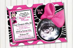 10 best minnie mouse baby shower invitations walmart images on baby shower invitations minnie mouse baby shower invitations usg image style polkadot frame minnie filmwisefo