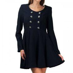 Jinny Navy Dress
