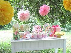 Candy theme dessert table