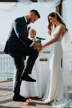 Jewish wedding at Liberty Warehouse in Brooklyn NY; PHOTOGRAPHY Joel + Justyna Bedford;