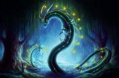 Visit of the Goddess  Signed Art Print  Fantasy by JoJoesArt