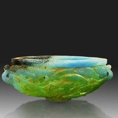 """Charles Miner - Art Glass titled """"Truchas"""""""