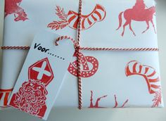 Present paper & gift tag  made by Anna Feer Productions