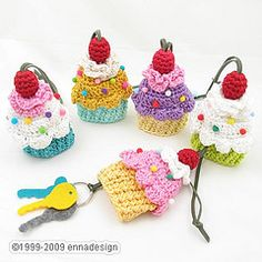 Cupcake keycover. I'll give you $20 each Heather, plus I'll supply the yarn! :D