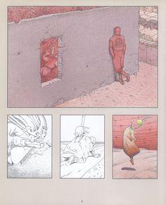 #Moebius #comics #illustration