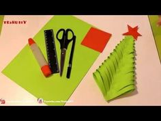 How To Make A Christmas Card With Children - DIY Crafts Tutorial - Guidecentral - YouTube