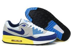 wholesale dealer 88923 1c743 Nike Air Max Light Black Yellow Wolf Grey White Military Blue 315728 New Nike  Air,