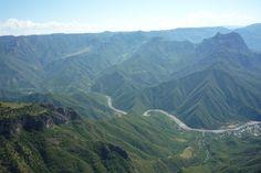 La majestuosidad de Barrancas del Cobre, en la Sierra Madre Occidental.