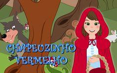 Chapeuzinho vermelho - historia completa em  Português