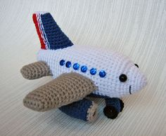 Crocheted Plane | Flickr - Photo Sharing!