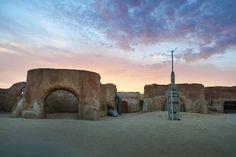 The Star Wars ruins in Tunisia