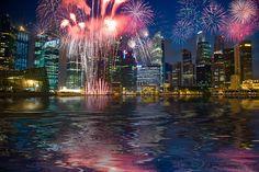Celebrating New Year's Eve in Singapore,  Southeast Asia... #JetsetterCurator