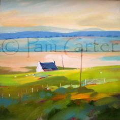 Distant Long crofts by Pam Carter