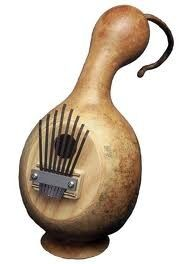 Gourd as musical instrument