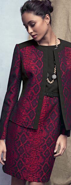 Albert Nipon Sleeveless Sheath Dress & Matching Jacket