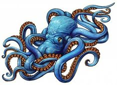 This in orange would be perfect for my octopus in a cave tattoo 😍