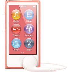 Apple MD475LL/A 16GB iPod Nano 7th Gen - Pink